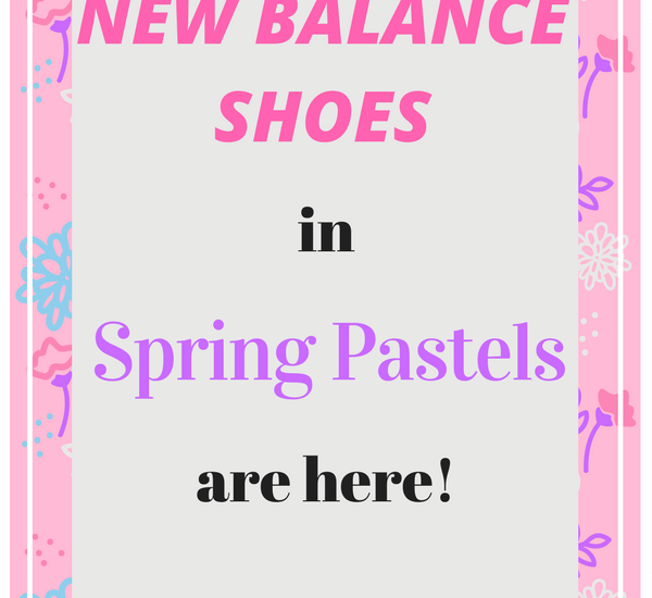 new balance shoes spring pastels