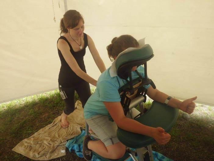 Christian Music Festivals Creation Massage Therapist