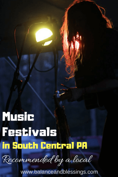 Music Festivals in South Central PA