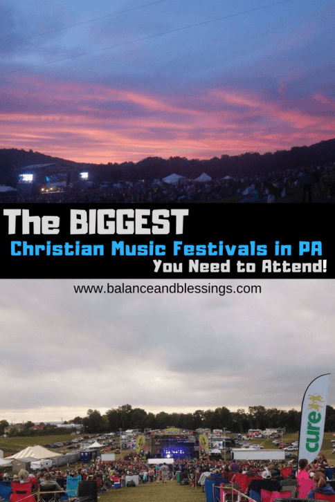 christian music festivals in pa