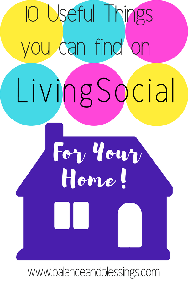10 Useful Things you can find on LivingSocial for Your Home