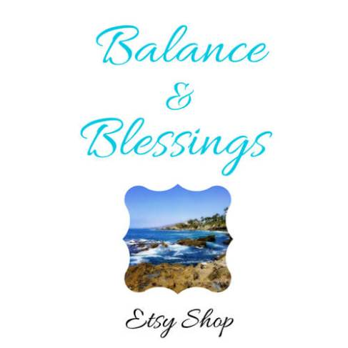 Balance and Blessings etsy shop seascape photography