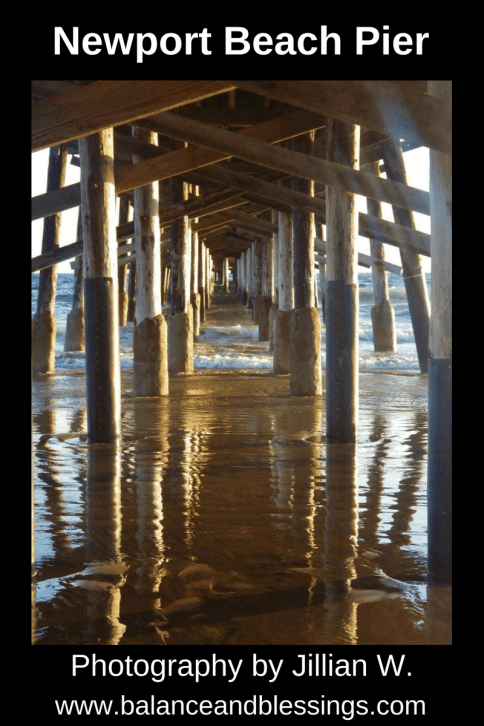 Newport Beach Pier seascape photography