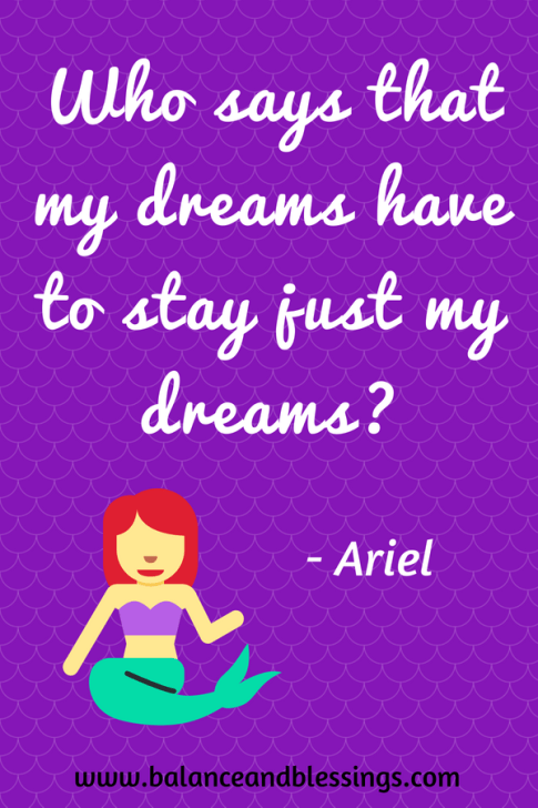 Ariel Quote Seascape Photography