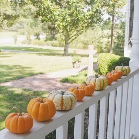 Fall decor ideas porch