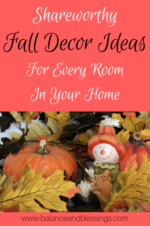 Fall Decor Ideas for the Home
