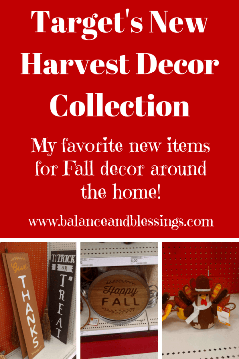 Target's New Harvest Decor Collection items