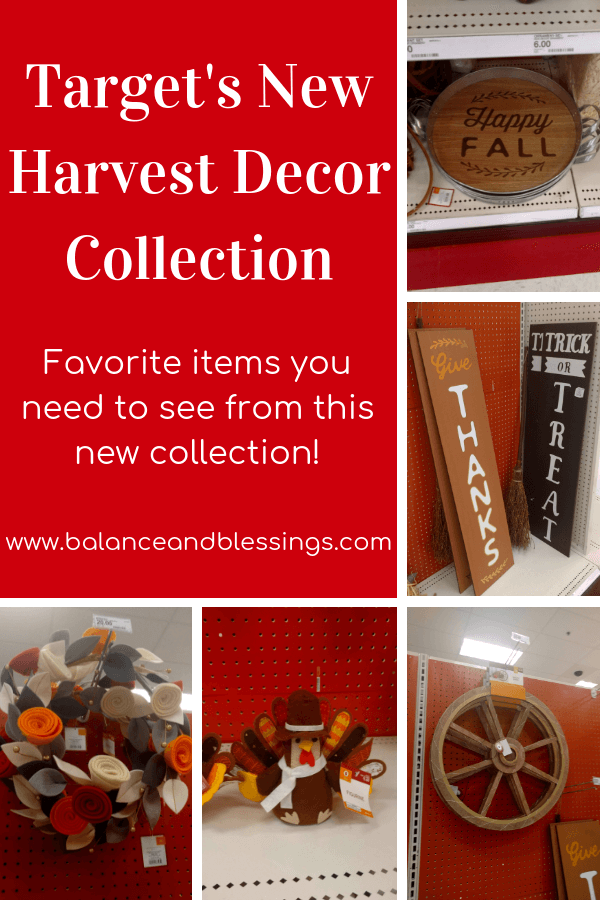 Target's New Harvest Decor Collection