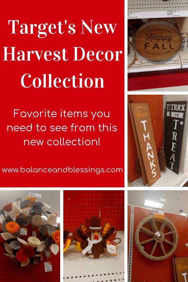 Target's New Harvest Decor