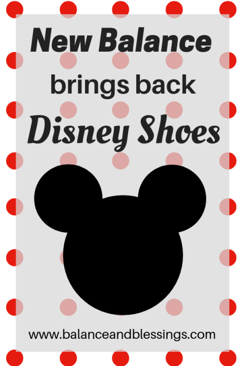 New Balance brings back Disney Shoes new Disney Collection