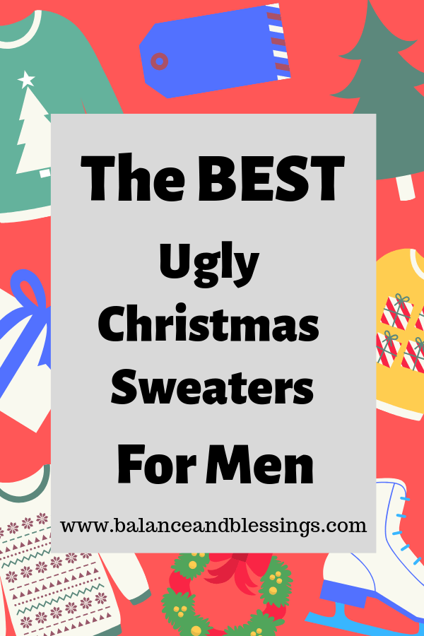 The BEST Ugly Christmas Sweaters For Men