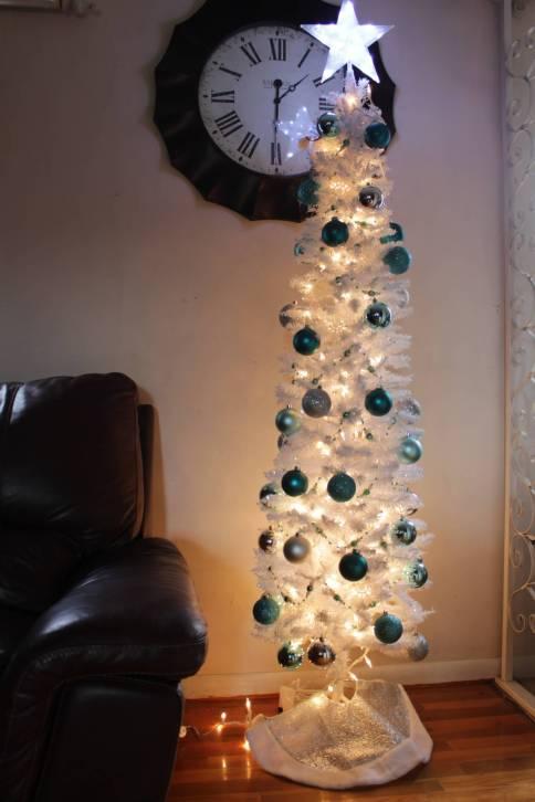 sequin christmas tree matching big tree