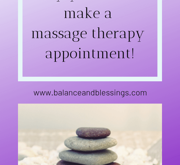 why you should make a massage therapy appointment