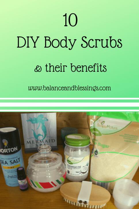10 DIY Body Scrubs
