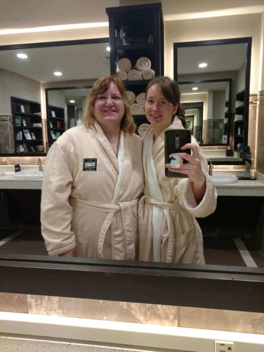 rest well spa time