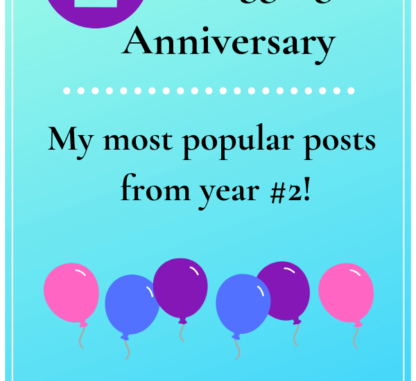 2nd blogging anniversary top posts