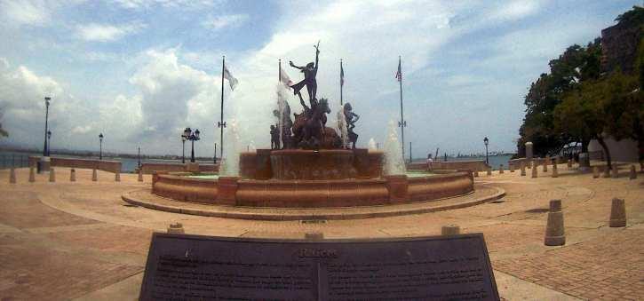 Raices Fountain in San Juan