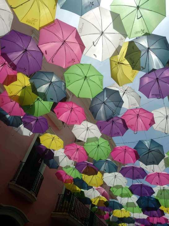 umbrellas in San Juan port day adventures