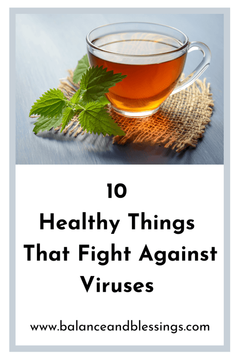 10 healthy things that fight against viruses hot fluids