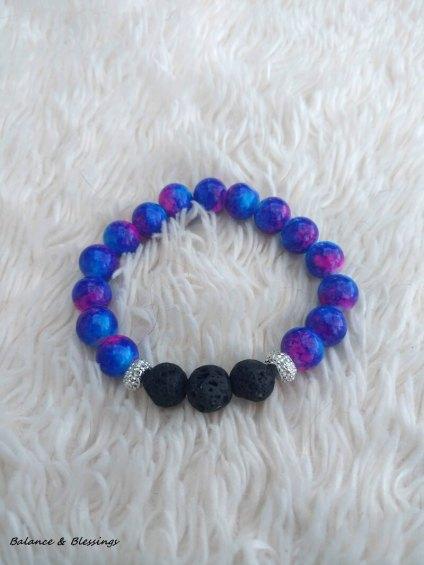 Aromatherapy Diffuser Stretchy Bracelet – Cosmic Stone