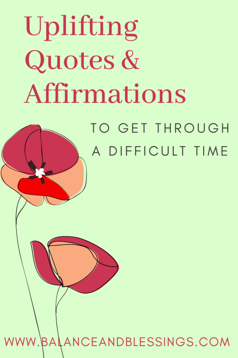 Uplifting Quotes & Affirmations main 2