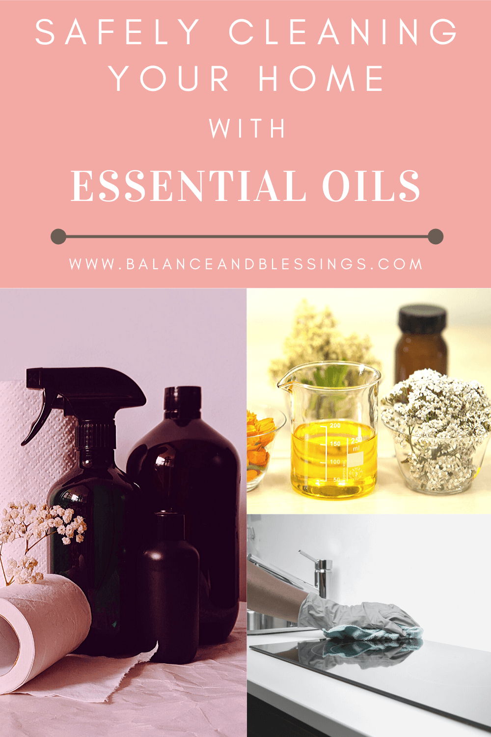 safely cleaning your home with essential oils main