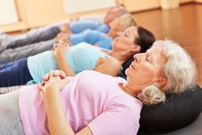 People with Chronic Conditions Practising Relaxation