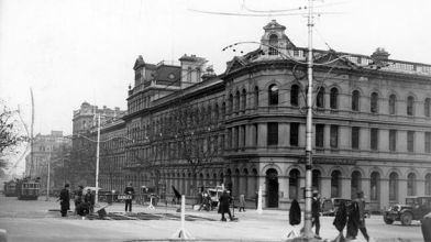St James Buildings, corner Bourke and Williams St Melbourne