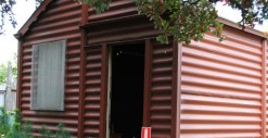 Historic Portable Iron House