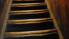 Portable Iron House staircase