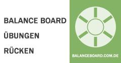 Balance Board Übungen Rücken