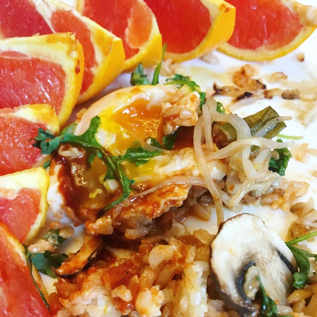 Vegetarian Egg One Pan Dish Balance Chaos