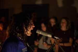 French Cassettes frontman Scott Huerta, photo by Sam James Levine / Derek Knowles