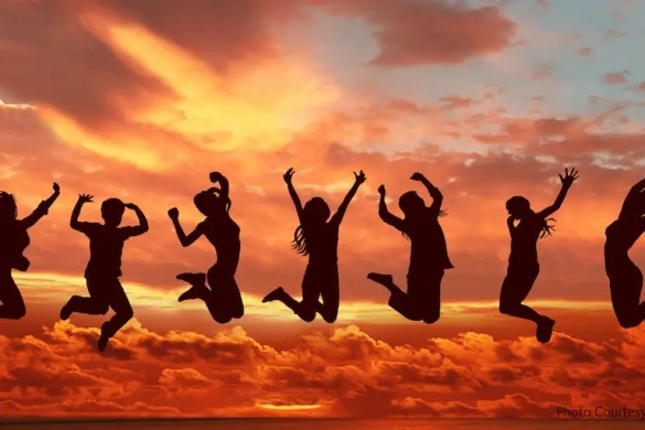 7 People Jump in the air and are extremely happy. You need to discover your deepest desire, which is to be happy and fulfilled, instead of chasing surface level desires.