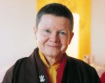 A profile picture of Pema Chodron is shown.