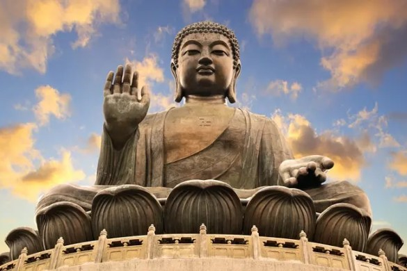 Statue of Buddha in Hong Kong to highlight Buddhism 101.
