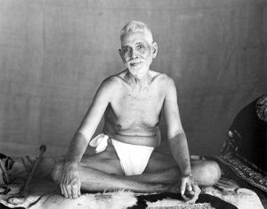 "Ramana Maharashi is infamously connected with the self-inquiry meditation question of ""Who am I?"""