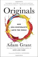 The cover for Originals: How Non-Conformists Move the World is shown. It ranks fifth on Balanced Achievement's list of the top 10 self-help books of 2016.