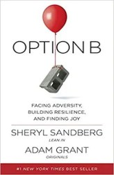 An image shows the cover of Option B which made Balanced Achievement's list of the 10 best personal transformation books of 2017.