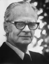 An image shows the iconic psychologist B.F. Skinner who made Balanced Achievement's list of history's most influential psychologists.