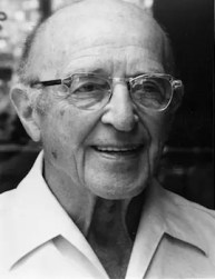 An image shows the iconic psychologist Carl Rogers who made Balanced Achievement's list of history's most influential psychologists.