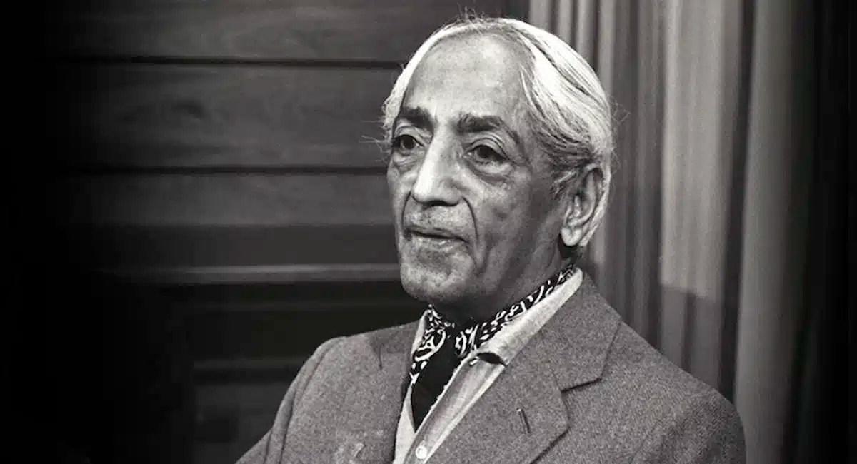 Krishnamurti Quotes | 20 Thought Provoking Jiddu Krishnamurti Quotes Balanced Achievement