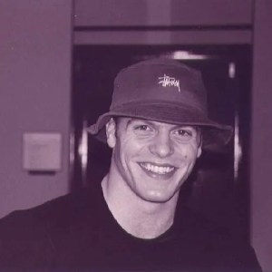 An image shows personal development guru Tim Ferriss when he was a student at Princeton University.