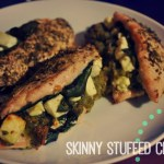 Pesto and Spinach Stuffed Chicken Breast