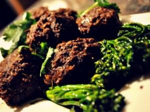 mushroom-meat-balls