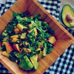Chopped Autumn Salad with Creamy Avocado Dressing