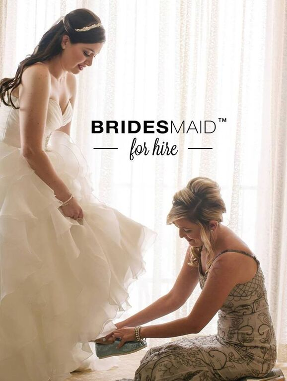bridesmaid for hire