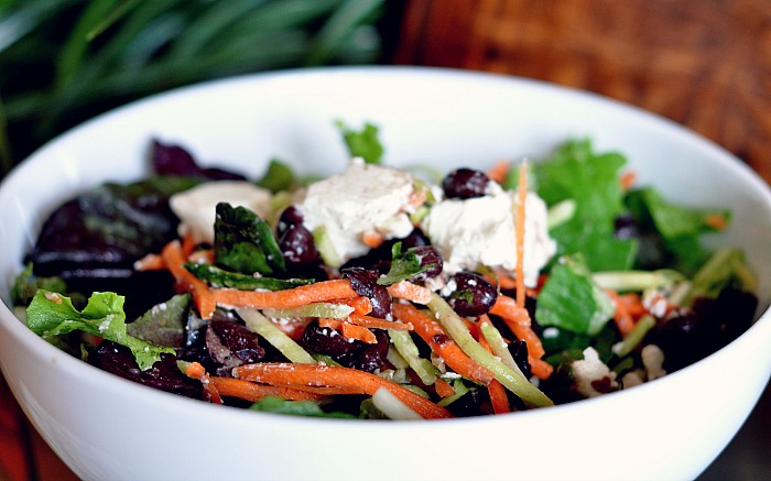 low gi black bean salad