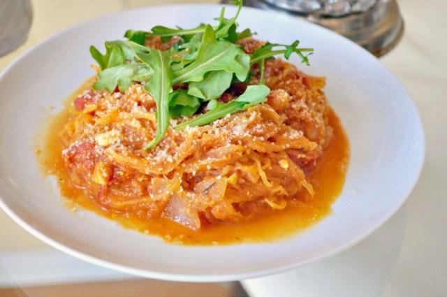 spaghetti squash low glycemic