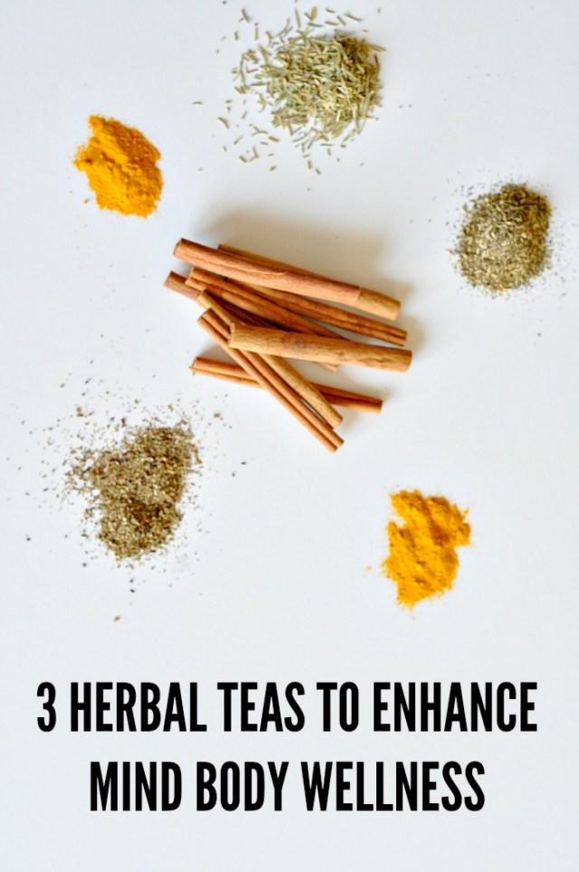 3 herbal teas